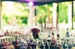 udekorowana sala weselna