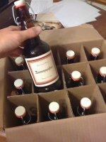 wino jako prezent ślubny